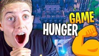 ÉNORME HUNGER GAME AVEC LA TEAM CROÛTON SUR FORTNITE CRÉATIF !!!