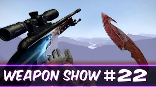 WeaponShow #22 GUT KNIFE SLAUGHTER / SSG 08 BLOOD IN  THE WATER