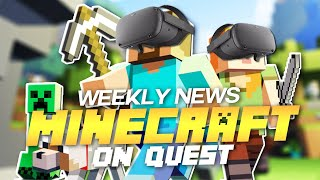Minecraft on Oculus Quest! - Valve's Half Life VR News This Week and More