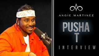 Pusha T Talks Good Music Presidency, Kanye, Nas Tour + Friday Album Release