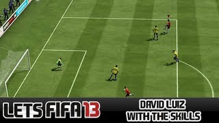 "Let's FIFA 13 ""David Luiz with the skills"" Episode 95"