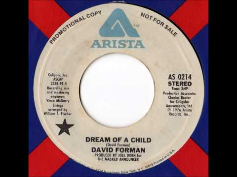 David Forman - Dream Of A Child