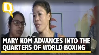 Mary Kom Enters Quarters of World Boxing Championship | The Quint