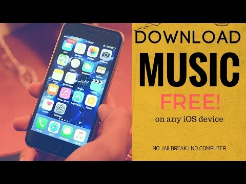 Download music for free on iPhone [iOS 10] | NO JAILBREAK | NO COMPUTER