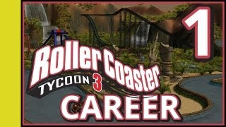 rollercoaster tycoon 3 career part 1