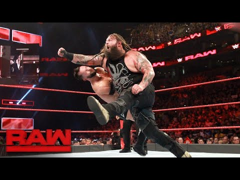 Finn Bálor vs. Bray Wyatt: Raw, Aug. 14, 2017
