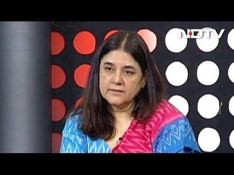How Minister Maneka Gandhi Deals With Opposition Within Government