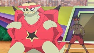 Gladion vs. Kiawe | Pokémon the Series: Sun & Moon—Ultra Legends | Official Clip