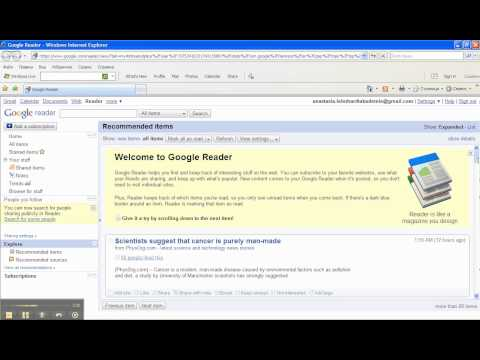 Google Spreadsheet ImportFeed Get RSS feed from YouTube · Duration:  2 minutes 48 seconds