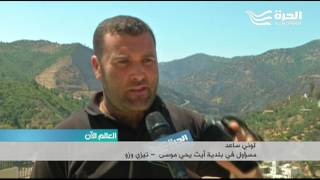 الجزائر.. الحرائق تلتهم مئات الهكتارات من الغابات في عدة ولايات