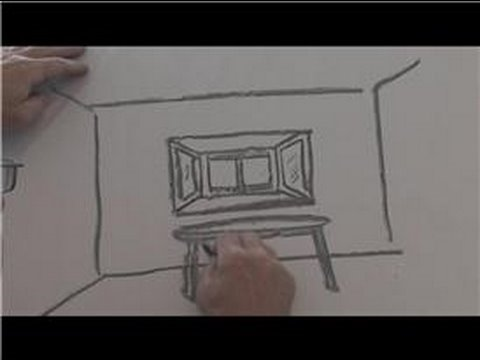 Drawing Techniques & Ideas : How to Draw a Bay Window ...