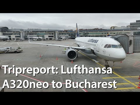 Tripreport | Lufthansa A320neo Frankfurt To Bucharest  | Economy