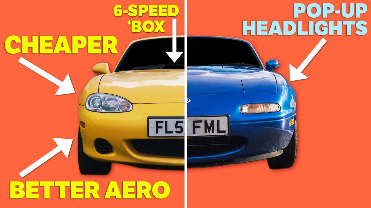 6 Reasons Why The Mk2 MX-5 Is Better Than The Mk1
