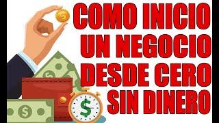 Negocio Sin Dinero - Historia Real.