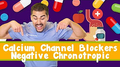 Calcium Channel Blockers *Part 1* (Cardizem) Negative Chronotropic fo