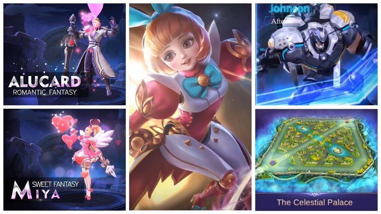 Update Terbaru Mobile Legends Hero Angela Skin Valentine Alucard