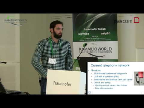Kamailio World 2016 - Telephony Evolution At CERN