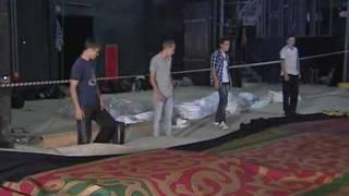 В Большой театр возвращен парадный занавес