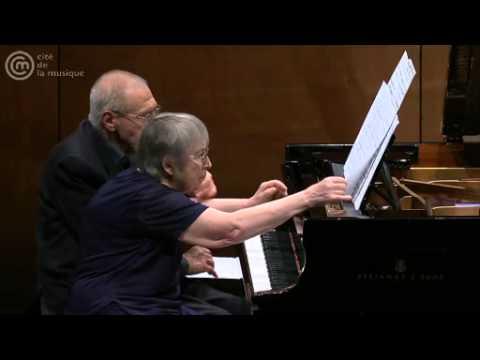 Duo Márta et György Kurtág, Bach / Kurtág