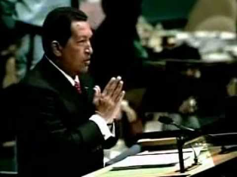Hugo Chavez attacks George Bush at UN General Assembly