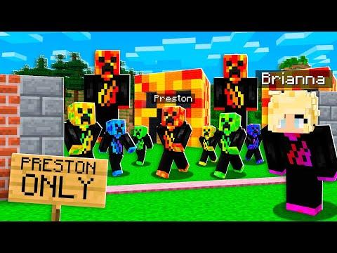 I Found a PRESTON Only Server in Minecraft!