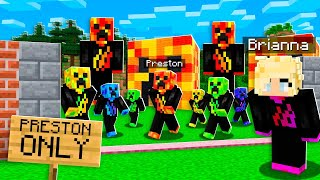 I Found a PRESTON Only Server in Minecraft!