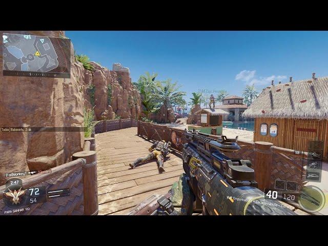 Call Of Duty Black Ops 3 New Dlc Map Splash Pc Gameplay Gtx 970 | 1080p 60fps