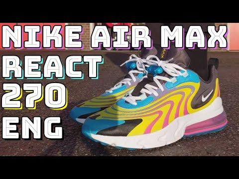 Nike Air Max 270 React Eng Review Travis Scott Cactus Jack