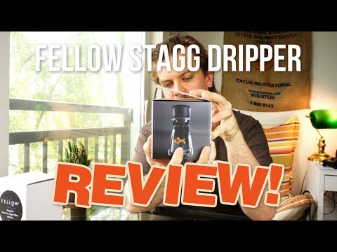 Fellow Stagg [X] Pour-Over Coffee Dripper - Unboxing and First Time Review