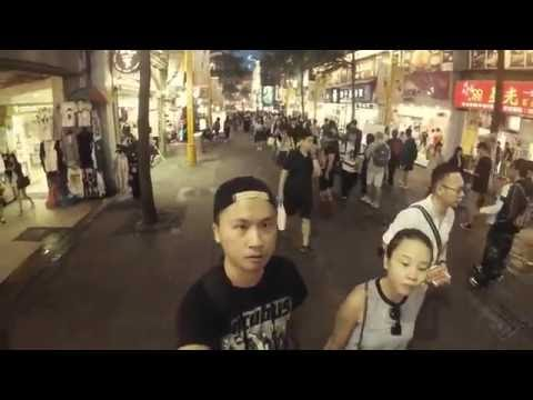 Taipei weekend short trip holiday with GoPro 4 silver