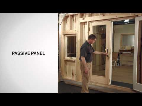 Identifying the Parts of Andersen® Frenchwood Hinged Inswing Patio Doors