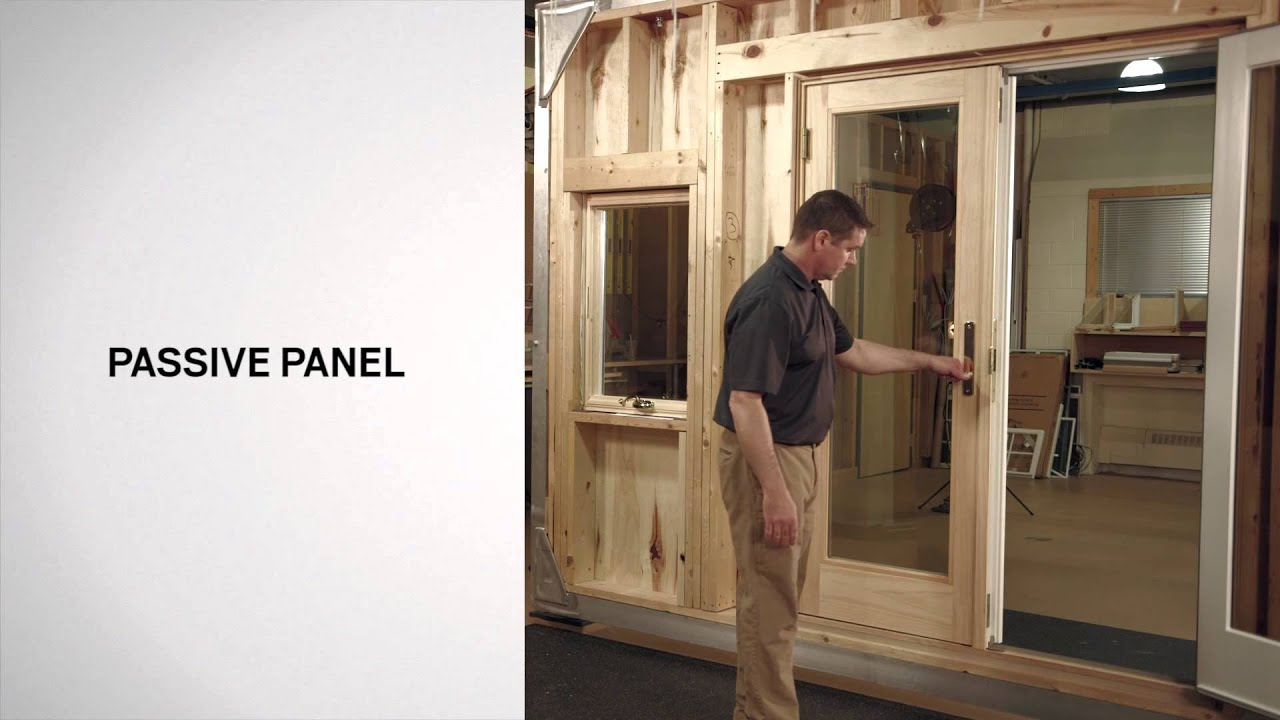 identifying the parts of andersen frenchwood hinged inswing patio doors youtube - Anderson Patio Doors