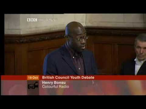 British Council Youth Slavery Debate