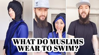 What do Muslims wear to SWIM? #shorts