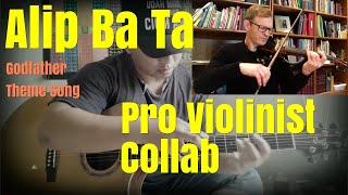 Alip Ba Ta, The Godfather Theme Song, Pro Violinist Collab (post-reaction collaboration)