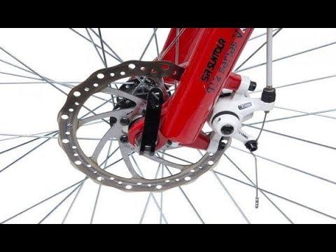 ремонт дискового тормоза велосипеда