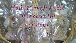 How To Make Salt Dough Angel Ornaments For Christmas