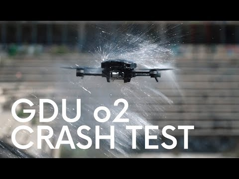GDU o2 CRASH TEST !!