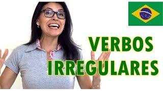 Português| 20 VERBOS IRREGULARES que você precisa saber!