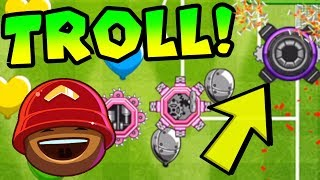 TROLLING With Spike Factory! Bloons TD Battles