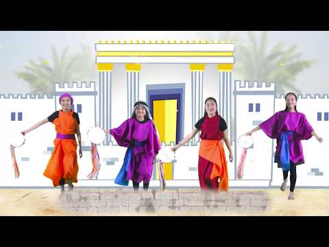 Sing Unto the Lord a New Song (2018 VBS Jerusalem action song video)