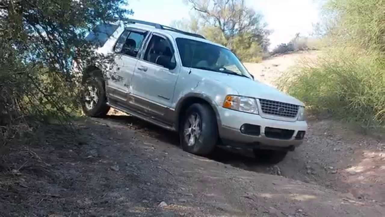 Extreme hill climb in 3rd generation 2005 Ford Explorer! OHV Part 3 of 3 - YouTube