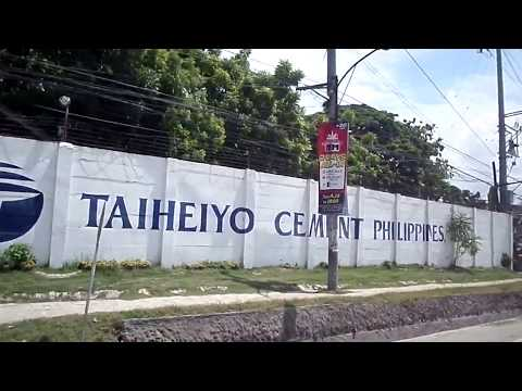 Huge cement company Taheiyo & Mabuhay at San Fernando Cebu Philippines