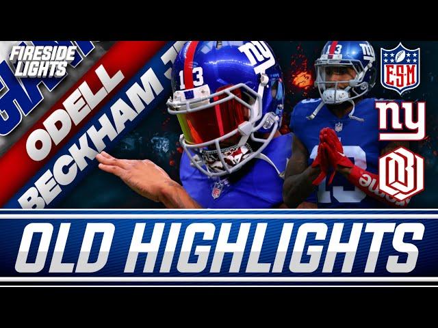Reacting To Old Odell Beckham Jr. Highlights   New York Giants