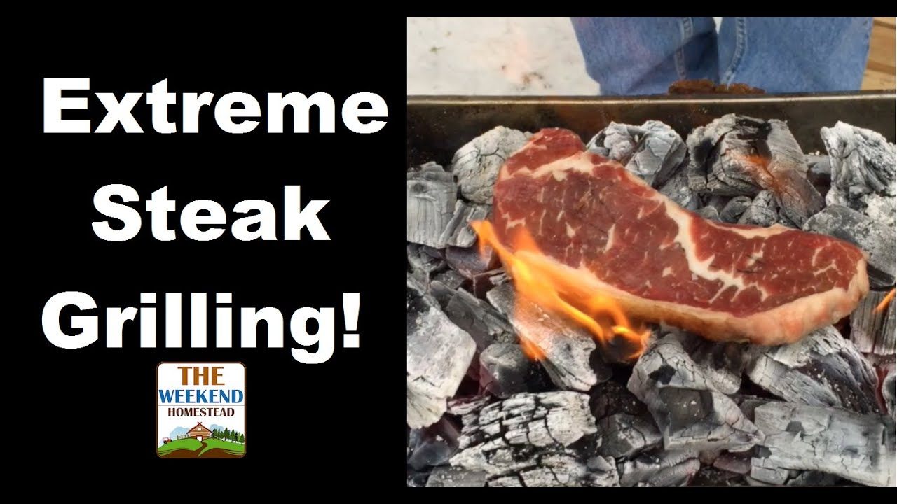 how to cook cube steak on charcoal grill