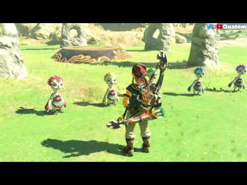 The Legend of Zelda: Breath of the Wild - Les soeurs de pier