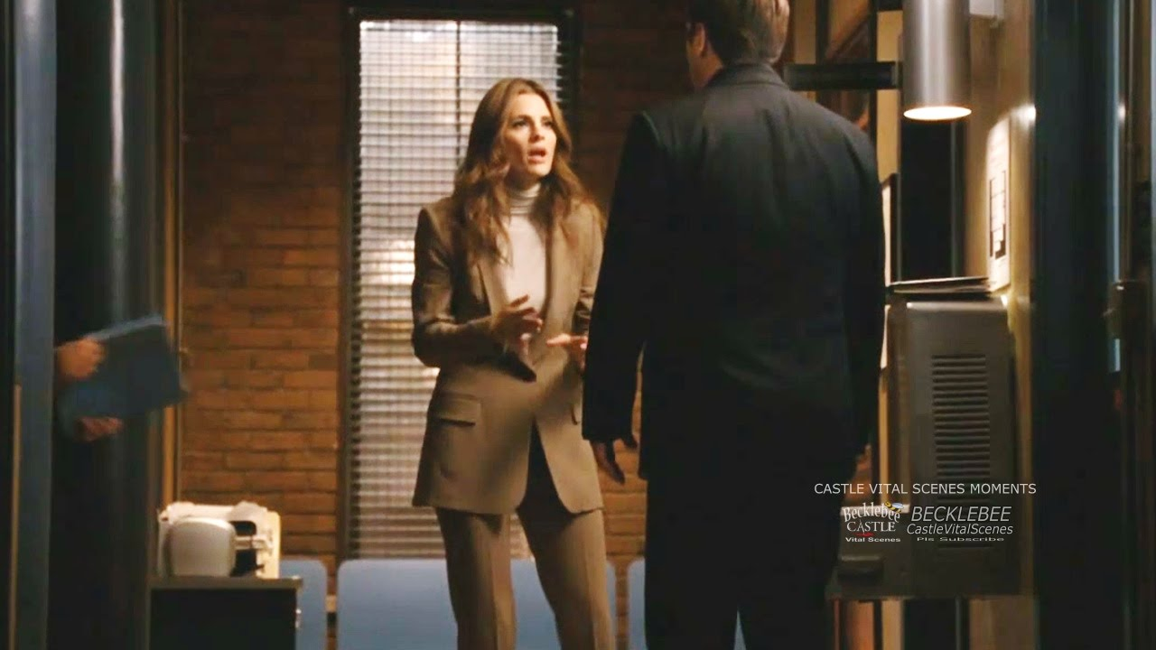Download Castle 4x05 Moment:  You've been compromised! - Jealous Beckett Shuts Out Castle