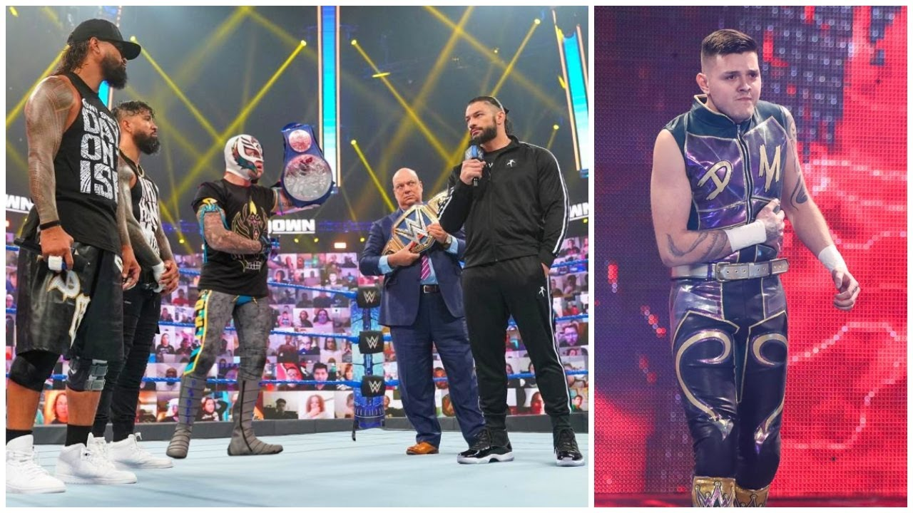 Roman Reigns & Rey Mysterio Contract Signing For Hell In a Cell 2021 Universal Championship Match ?