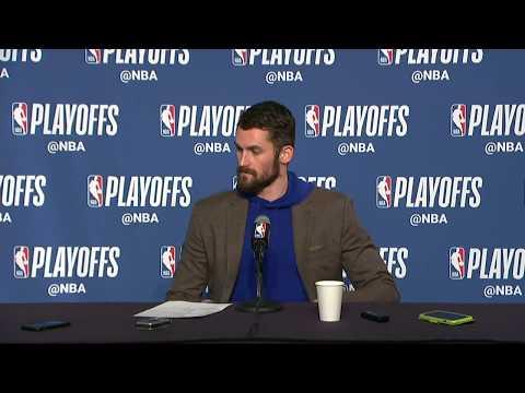 Kevin Love Postgame Interview | Cavaliers vs Raptors Game 3