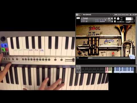 8Dio Misfit Trumpet Sarah Tustra by Richardo Stress